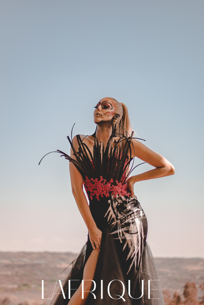 Johan Botha Halloween dress day of the dead